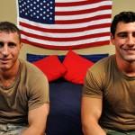Army Cocksucker Roman Blows Nick's Big Dick