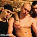 Darko & Dylan Cox Bareback Hot Bartender & Breed His Ass