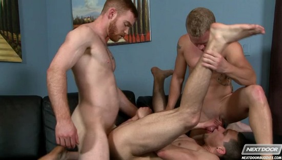 The Dong Pound- James Jamesson, Anthony Romero, Adam Ridge - NextDoorBuddies.com27