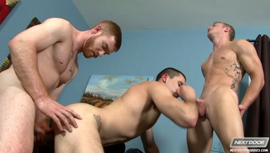 The Dong Pound- James Jamesson, Anthony Romero, Adam Ridge - NextDoorBuddies.com68
