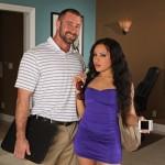 Hung Bearded Vinnie Castillo Pounds Gabriella & Cums Twice
