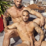 Muscular Gods Alex Marte & Damien Crosse Fucking On Rooftop