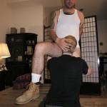 Ben Sucks A Hairy Cock