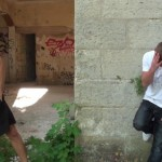 Hung French Toughie Leo Fucks Young Dude Among The City Ruins