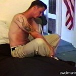 Manly, Totally Straight Amateur Marine Accepts His First Gay Blowjob
