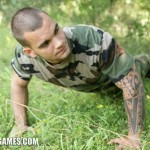 Hot Muscled Military Dude Cem Manhandles & Trains His Pussy Boy