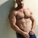 Big, Bearded Stud Landon Conrad Fucks The Shit Out Of Joey Cooper's Ass
