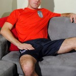 Young Footballer With Muscular HAIRY Legs & Big Balls
