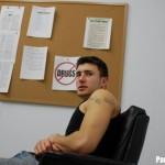 Parole Him – White Trash Gangster Coerced Into Fucking a Cop