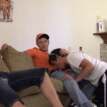 New Pledge Zach Fucked Raw & Bred By Three Hung Guys