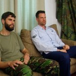 Hung Airman Zach Fucks The Cum Out Of Bearded Private Antonio