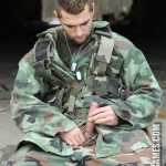 Two Hot Soldiers Capture Young Homeless Dude & Train Him