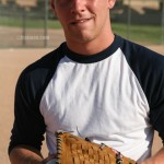 College Baseball Player