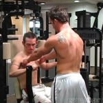 Ryan Andrews Nails His Buddy Beaux After Working Out In Gym