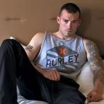 Rough, Manly New Recruit Vic Fucks Hesitant Soldier Drew