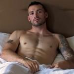 Masculine Straight Military Stud Vic