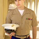 Young Hung Straight Marine David Rubs One Out