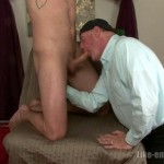 Hot Hung Straight Man Glenn Gets His First Gay Blowjob