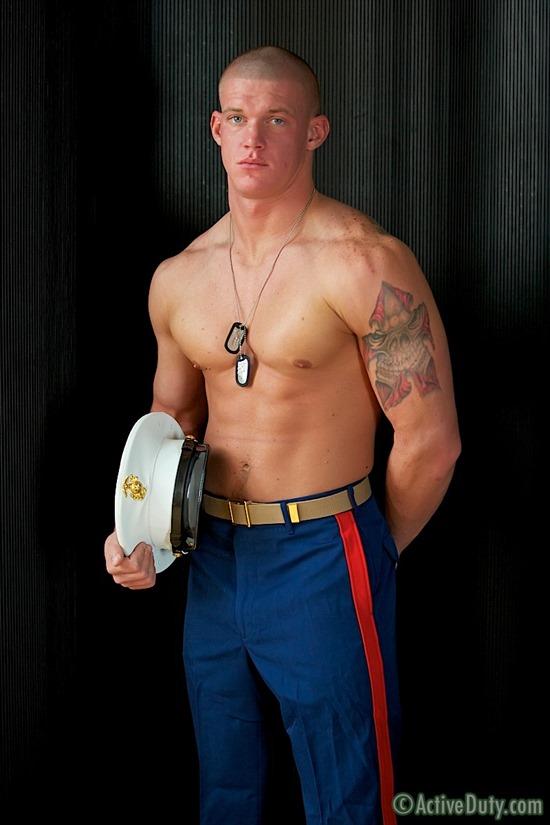 Gay Marine porno