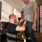 Hairy Mature Straight Daddy Logan Tests Our New Cocksucker