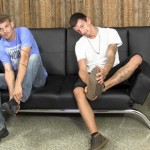 Inexperienced Straight Guys Michael & Eddy Jerk Off Together