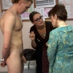 Young Fit Sportsman Declan Extenesively Inspected By Inquisitive Female Doctors