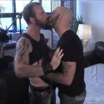 Horny Bearded Michael Fucks A Dude From A Party