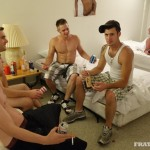 Wild Raw Gangbang In The Frat House With Stiffer & His Buddies