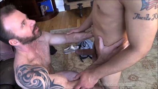 Cute gay college boys sucking dick while drunk