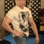 Ripped Manly Straight Dude Petr Cizmar Shows Off His Body & Huge Uncut Cock