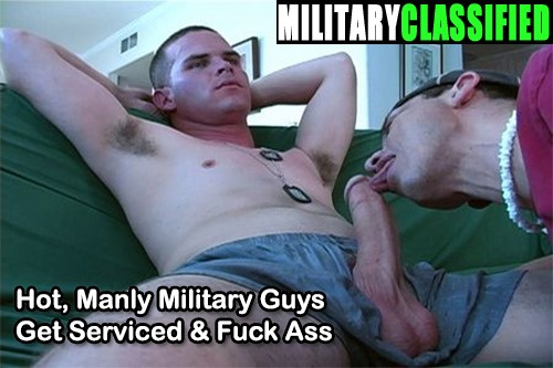 Military classified big dick