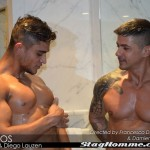 "Bulgarian Stud Goran & Brazilian Sex God Diego Lauzen Fucking In Bathroom (""Gostosos"")"