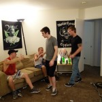 Andrew's Ass Gets Plowed & Seeded By His Horny Roommates