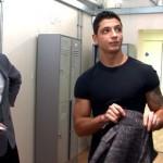 Virile Straight Footballer Miguel Inspected By Pervy Men