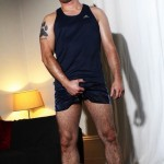 Beefy, Hairy & Masculine Footballer Darren Daley Strokes It