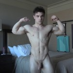 Young Muscled Personal Trainer Zach Rode