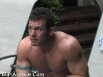 Very Handsome Muscled Straight Man Luke Cums Twice