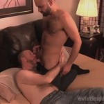 Sexy Hairy Otto Gets Royal Blowjob From Dedicated Cocksucker Sean