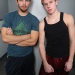 Scruffy-Looking Hunk Glenn & Freshman Percy Suck Each Other's Cock