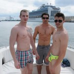 Spring Fever – Jack King & Johnny Forza Fuck Asher Hawk's Tight Ass On A Boat