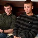 Real-Life Marine Buddies Randy & Sean Take Their Bromance To The Next Level