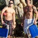 Hot Ripped Straight Buddies Eyal & Austin Play On The Beach Totally Naked