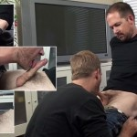 Aaron Services Seth's Beautiful Cock & Swallows His Entire Load