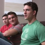 Hot Bareback 3-Way With Joey, Randy & Jordan