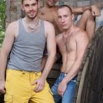 Peto Coast & Edward Fox Nail Lucio Saints In A Hot Outdoor 3-Way