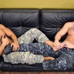 Beefy Military Stud Logan Fucks Private Seth