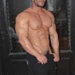 Horny Bodybuilder Robin Sanchez Invites Sexy Thug Damien Crosse To His Balcony