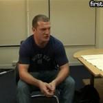 Rough Straight Man Derek At His First Porn Audition