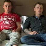Hung Ripped Marines Tim & Evan In A Hot Bareback Flip-Flop Fuck Scene