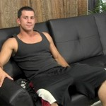 Sexy Beefy Daddy With 9-Inch Thick Uncut Cock Comes Over To Jack Off